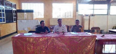 Penyuluhan Bahaya Narkoba untuk staf Desa