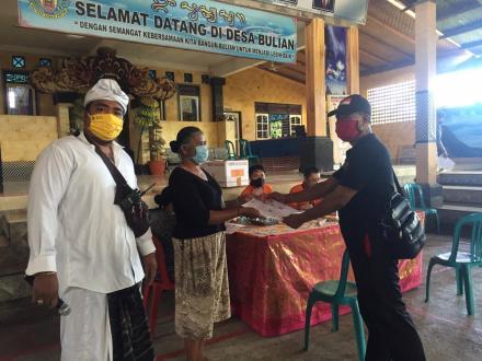 Penyaluran Bantuan BST Pusat Tahap I